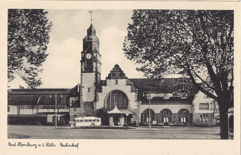 Ansichtskarte Bahnhof 50er Jahre