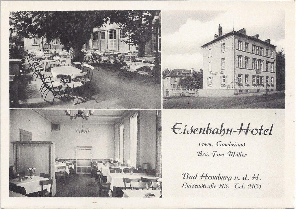 AK Eisenbahn-Hotel