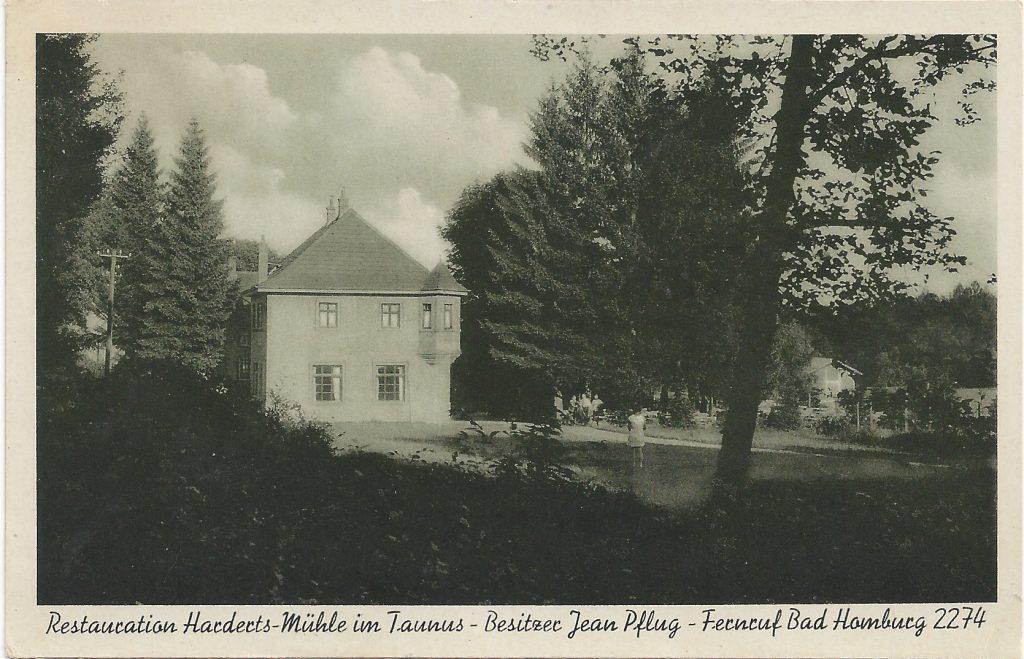 Ansichtskarte Hardertsmühle