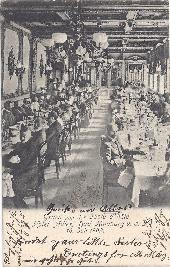 Ansichtskarte Hotel Adler