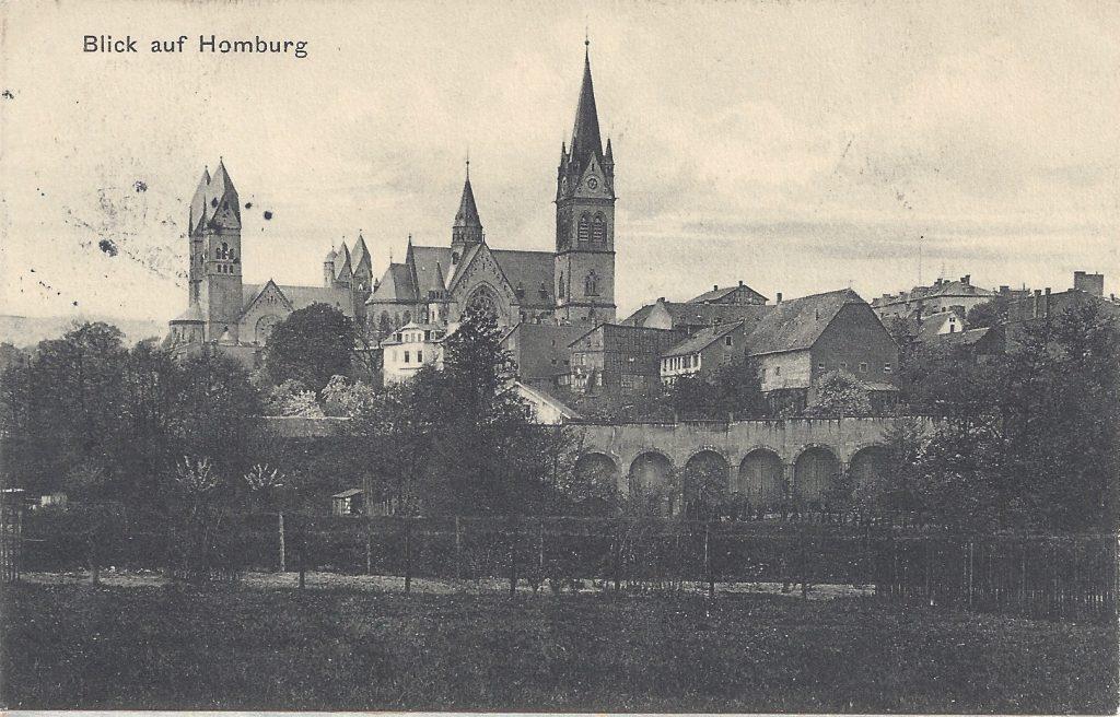 Ansichtskarte Thomas-Brücke