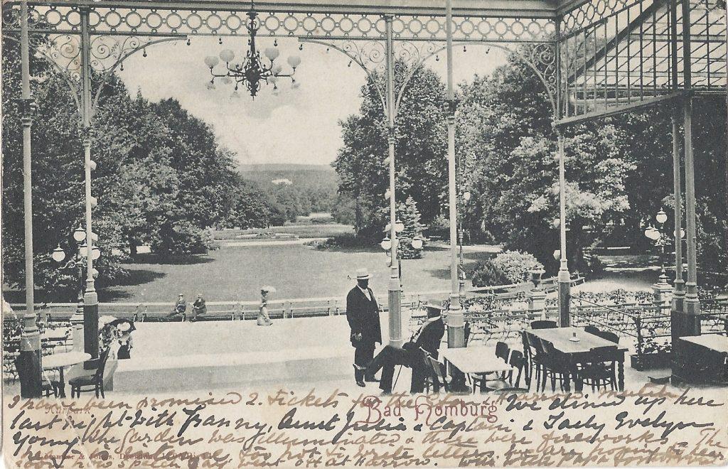 Ansicht Kurhausterrasse Bad Homburg