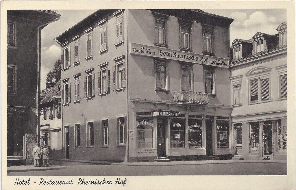 AK Hotel Rheinischer Hof
